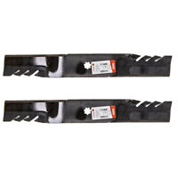 Oregon 592 615 21 3 8quot; G5 Gator Toothed Mulching Blades John Deere 42quot; 2 PACK