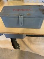 Fordson Tractor Tool Box