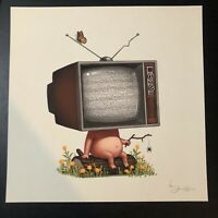 MIKELAND MIKE I TV DUDE GICLEE PRINT BY MIKE MITCHELL S N MONDOCON 2017 $74.99