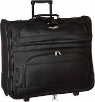 Travel Suitcase Wheels Rolling Folding Garment Bag Luggage Carry Clothing Suits