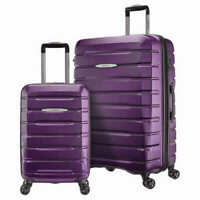 "Samsonite Tech 2.0 2 Piece Hardside Spinner Set Purple. 27"" Spinner 20"""