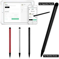Touch Screen Pen Stylus Universal For iPhone iPad Samsung Tablet Phone PC 2 in 1 $1.89