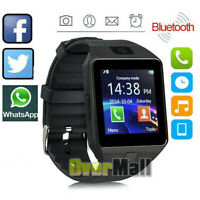 Smart Watch for iPhone iOS Android w Camera Bluetooth Waterproof Fitness Tracker $21.84