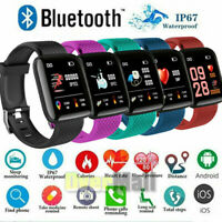 2021 Touch Smart Watch Women Men Heart Rate For iPhone Android IOS Waterproof $18.75