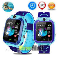 Anti lost Smart Watch Safe SOS Call GSM SIM Camera Gifts Tracker For Child Kids $21.89