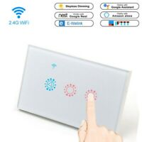 WiFi Smart Touch Dimmer Switch APP Light Control For Alexa Google Nes US $23.80