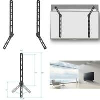 Universal Sound Bar Mount Bracket for Mounting Above or Under TV with Adjustable $15.08
