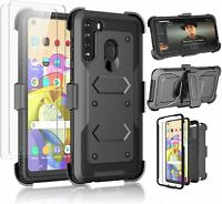 Galaxy A21 Case Takfox Phone Case for Samsung with 2 Screen Black $26.11