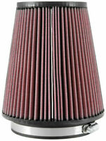 Kamp;N RU 2800 Universal Air Filter Cone 5quot; Inlet 127mm Red Conical Cotton Gauze $50.99