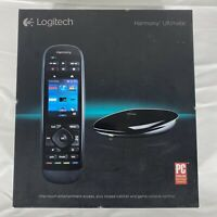 Logitech Harmony Ultimate Touch Screen Remote With Hub No IR Blasters $99.99