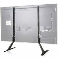 WALI TVS001 Universal TV Stand Table Top for Most 22 65 in LCD Flat Screen TV $21.68