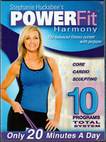 Stephanie Huckabee#x27;s POWER FIT Harmony on a 10 DVD of WEIGHT LOSS Workout VIDEO $9.95