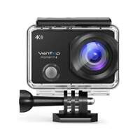 VanTop Moment 4 Outdoor 4K Sports Action Camera LCD Touch Screen Remote Control $63.19