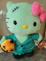 FREE SHIPPING HELLO KITTY FRANKENSTEIN HALLOWEEN PLUSH CVS 2021 NEW WITH TAGS