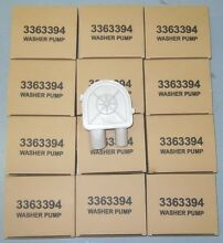 3363394   Washing Machine Water Pump 12 Pack
