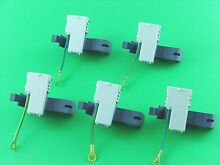 8318084  Washer Lid Switch for Whirlpool  Kenmore  Roper   5 Pack