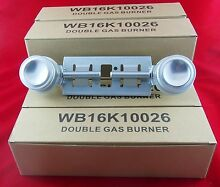 Gas Stove Top Double Burner for General Electric WB16K10026 New 6 Pack