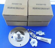 5303281153 Electrolux Frigidaire Gibson Dryer Rear Bearing Drum Kit 4 Pack