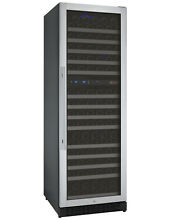 Allavino 172 Bottle Built In Wine Cooler Refrigerator Dual Zone Cellar