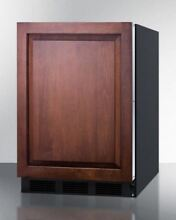Built In Undercounter Refrigerator Freezer For Residential Use   Black