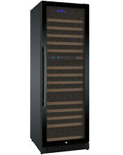 Allavino 172 Bottle Built In Commercial Wine Cooler Refrigerator Dual Zone Black