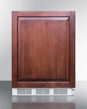 24  Wide Counter Height Refrigerator Freezer  Wood   CT66JBIIF