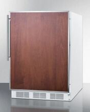 Built In Undercounter Residential Use Refrigerator Freezer   White CT661BIFR