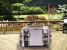 Stainless Steel Outdoor Serving Cart