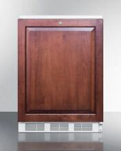Medical Summit NSF Compliant Built in Under Counter Refrigerator  Wood FF7LBIIF