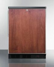 Summit Built in All Refrigerator for Craft Beer Storage  Wood FF7LBLBIPUBFR