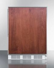 Medical Summit NSF Compliant Built in Under Counter Refrigerator  Wood
