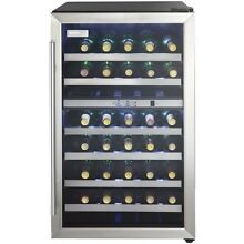 Danby 38 Bottle Wine Cooler Stainless Steel Door Trim Reversible Door Light NEW