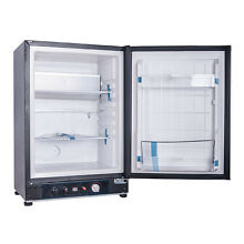 LP Gas 110V 12V Refrigerator 2 1 cu ft Absorption Mini Fridge Home Caravan Truck