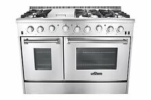 Thor Kitchen HRG4808U 48  6 Burners Professional Style Stainless Steel Gas Rang