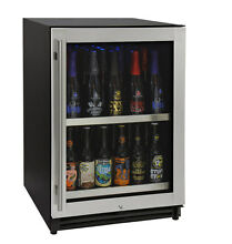 Kegco VSCB 24SSRN 24  Wide Undercounter Craft Beer Center Bomber Refrigerator