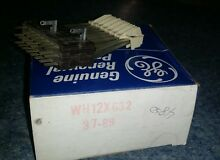 Wh12x632 New GE General Electric Hotpoint washer timer