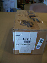 NEW IN BOX SUB ZERO PART 4204810 TROUGH HEATER REPL JUST  59 MSRP  80 NO RETURNS