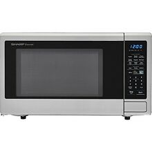 Sharp Carousel 1 4 Cu  Ft  1000W Countertop Microwave Oven NEW