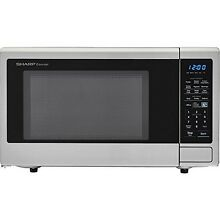 Sharp SMC1842CS Carousel 1 8 Cu  Ft  1100W Countertop Microwave Oven NEW