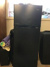 Haier refrigerator  purchased 4 months ago  9 4 cuft  dark brown  freezer top