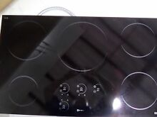 VECT1365 36  BLACK INDUCTION COOKTOP BY VERONA OF ITALY NO POWER SHARING