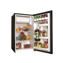 3 3 cu ft Compact Refrigerator Black Haier Mini Fridge Office Dorm Game Room