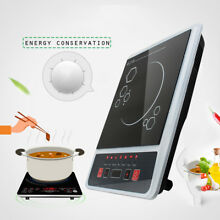 Portable Induction Cooktop Countertop Electric Cooker Burner Stove Hot Pot Black