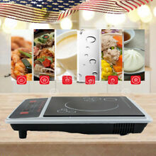 2KW Portable Digital Induction Cooker Electric Cooktop Burner Home Countertop