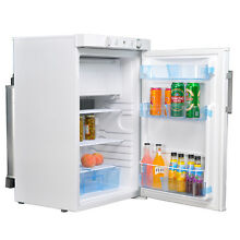 3 5 cu ft 3 Way Propane Refrigerator Camp RV Cooler with Electric Gas Thermostat