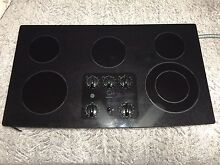 Rarely Used 5 Burner General Electric Cooktop Charcoal Colored  jp655bm2bb