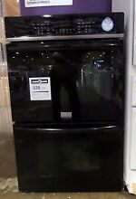 FGET3065PB FRIGIDAIRE GALLERY DOUBLE WALL OVEN  CONVECTION BAKING