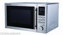 Sharp R84AO 220 240 Volt 25L Microwave Convection Oven Grill 220v 240v 50Hz