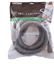 Washing Machine Drain Hose Hooked End 10 Foot Outlet PVC Washer Laundry Room