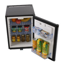 Portable 40L Absorption Cooler Compact 110V 12V DC Mini Refrigerator with Lock